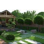 Озеленение садового участка в 5 соток