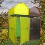 Садовый душ из поликарбоната
