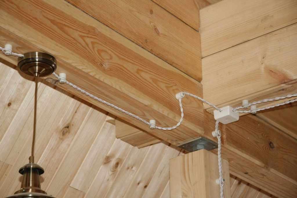 Электропроводка в летней кухне