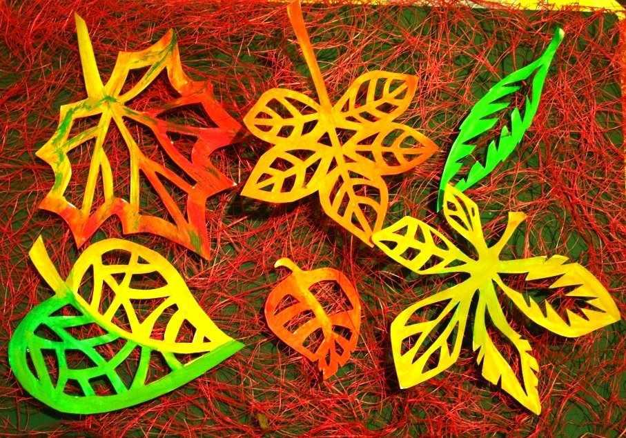 Листья-вытынанки