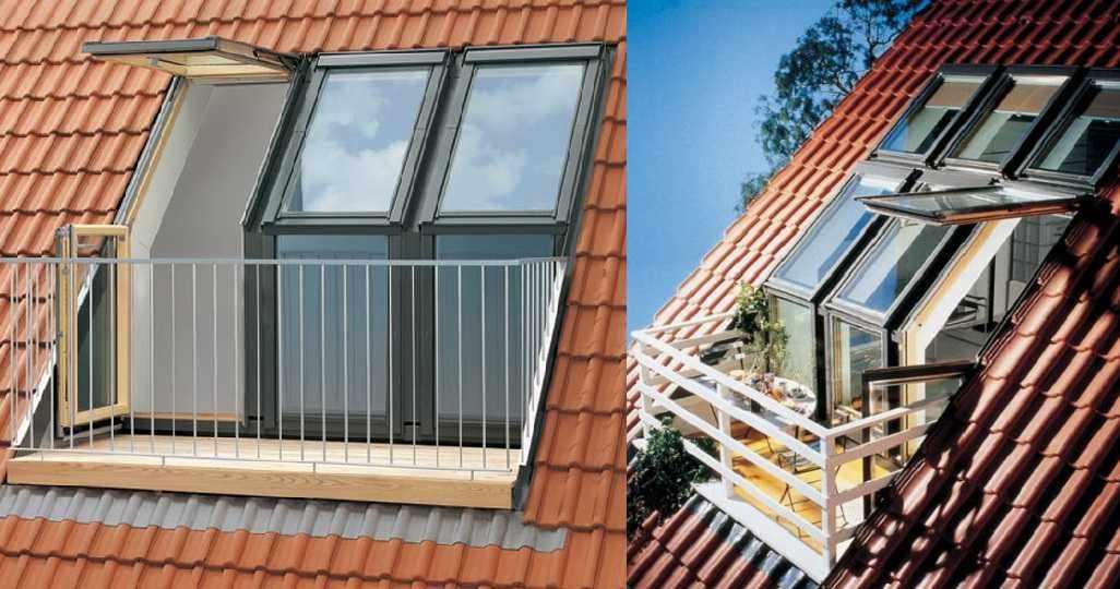 Окна-двери на балкон