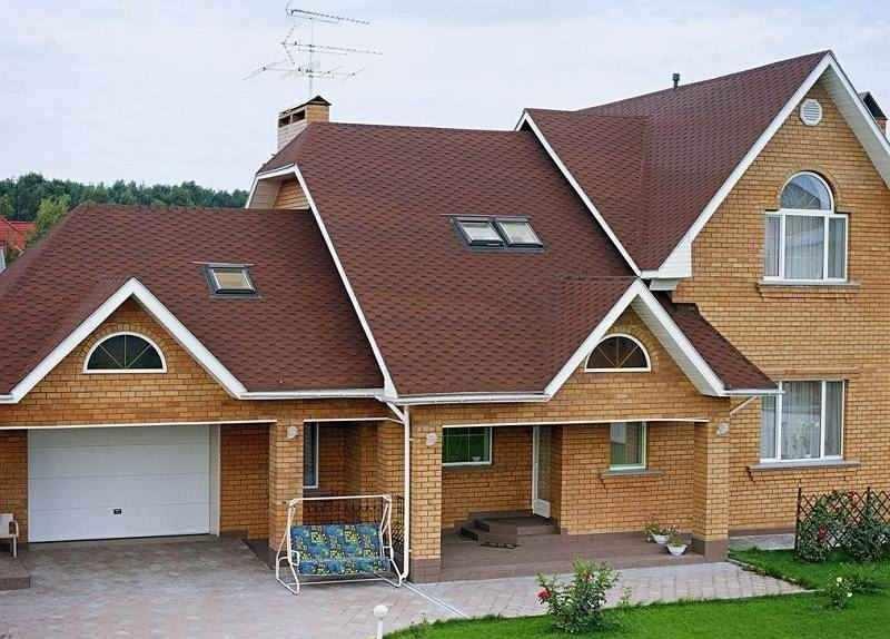 Оригинальный вид дома