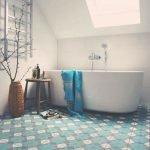 Небольшая ванная комната