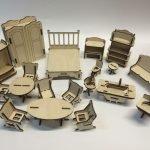 Полный комплект мебели из фанеры