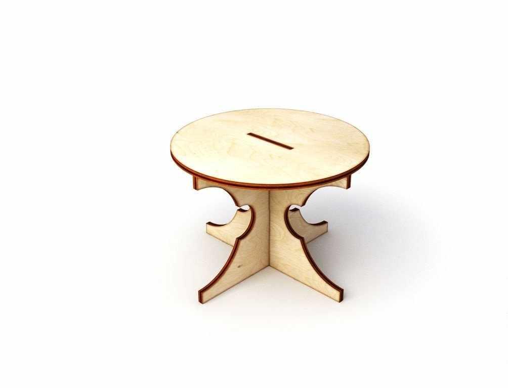 Круглый стол образец