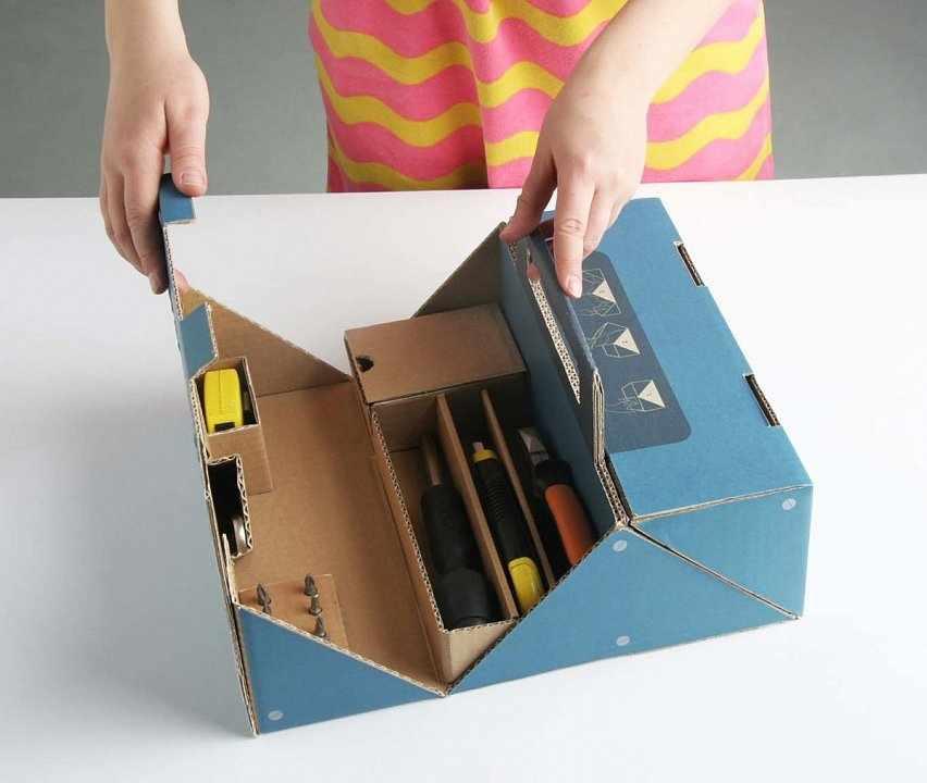 Набор инструментов для мебели из картона