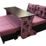 Раскладной диван со столом