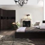 Спальня в цвете венге