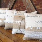 Оригинальный декор подушек