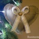 Сердце на елке