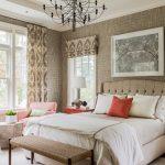 Спальня с интерьером в стиле прованс