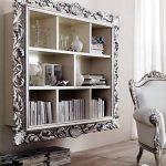 Обрамление стеллажа декоративными панелями