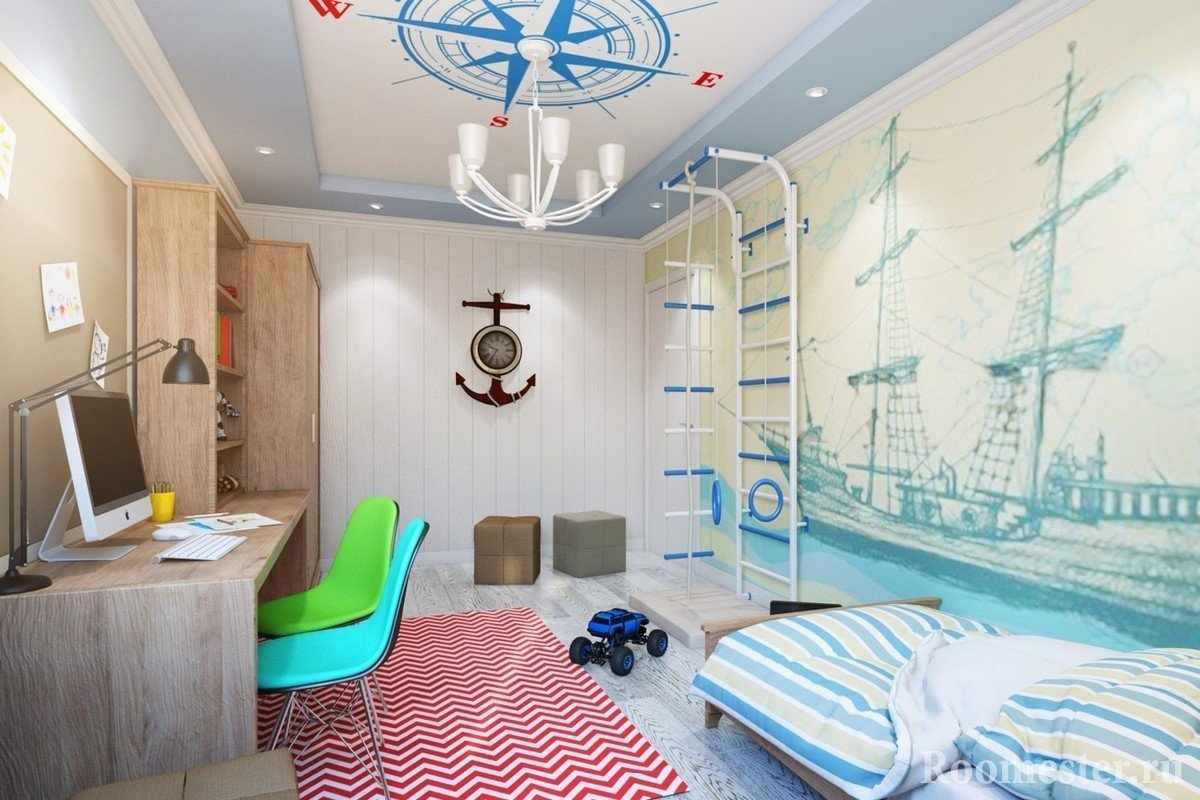 Шведская лестница у кровати