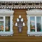 Наличники на окно в русском стиле