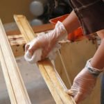 Покрытие деревянных заготовок