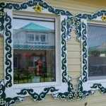 Обналичники из металла на окна