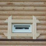 Деревянная обналичка для деревянного дома