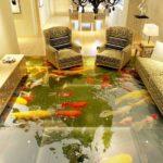 Рыбы на полу