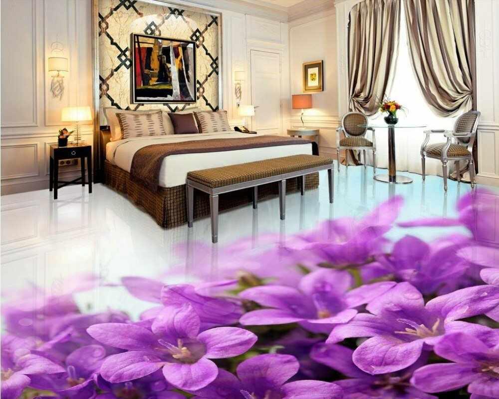 Напольное покрытие в спальне