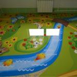 Наливной пол в детской