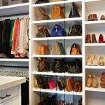 Полки для сумок и обуви