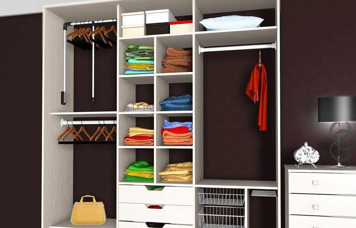 Хорошо продуман план шкафа