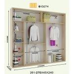 Вариант планировки шкафа 6
