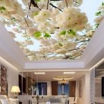 Потолок яблоневый цвет
