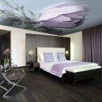 Потолок с тюльпаном