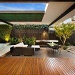 Комбинирование дерева и бетона