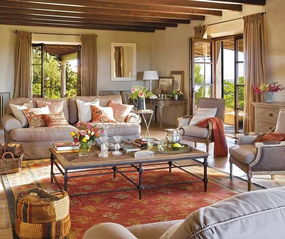 Угловатая мебель - одна из черт немецкого стиля в интерьере