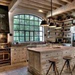 Балки на кухне
