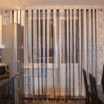 Красивые шторы на кухне