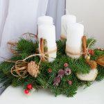 Свечи на венке