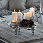 Свечи на столике