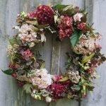 Сухими цветами
