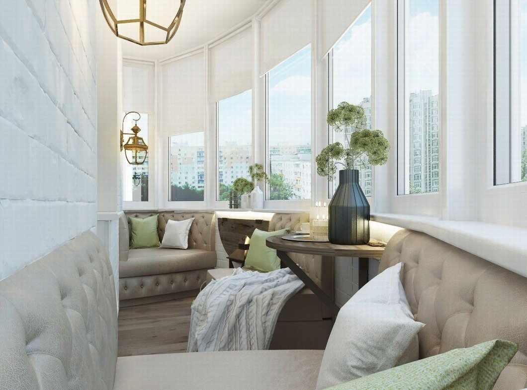 Гостиная-балкон