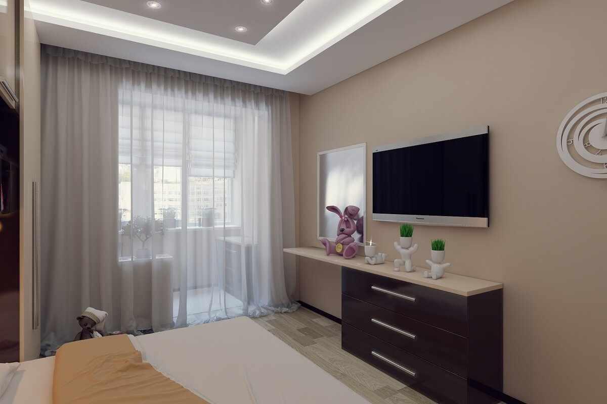 Спальня-балкон