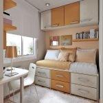 Шкафчики над диваном