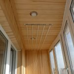Потолок с вагонкой