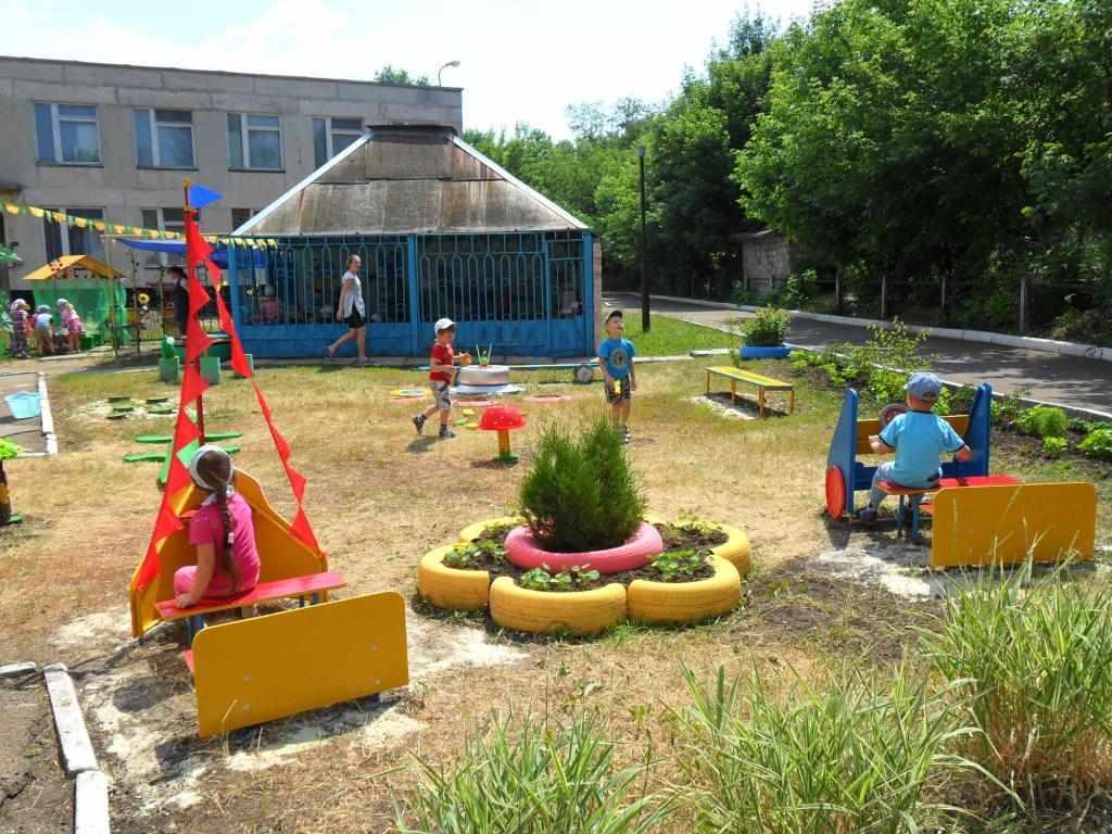 Двор детского сада