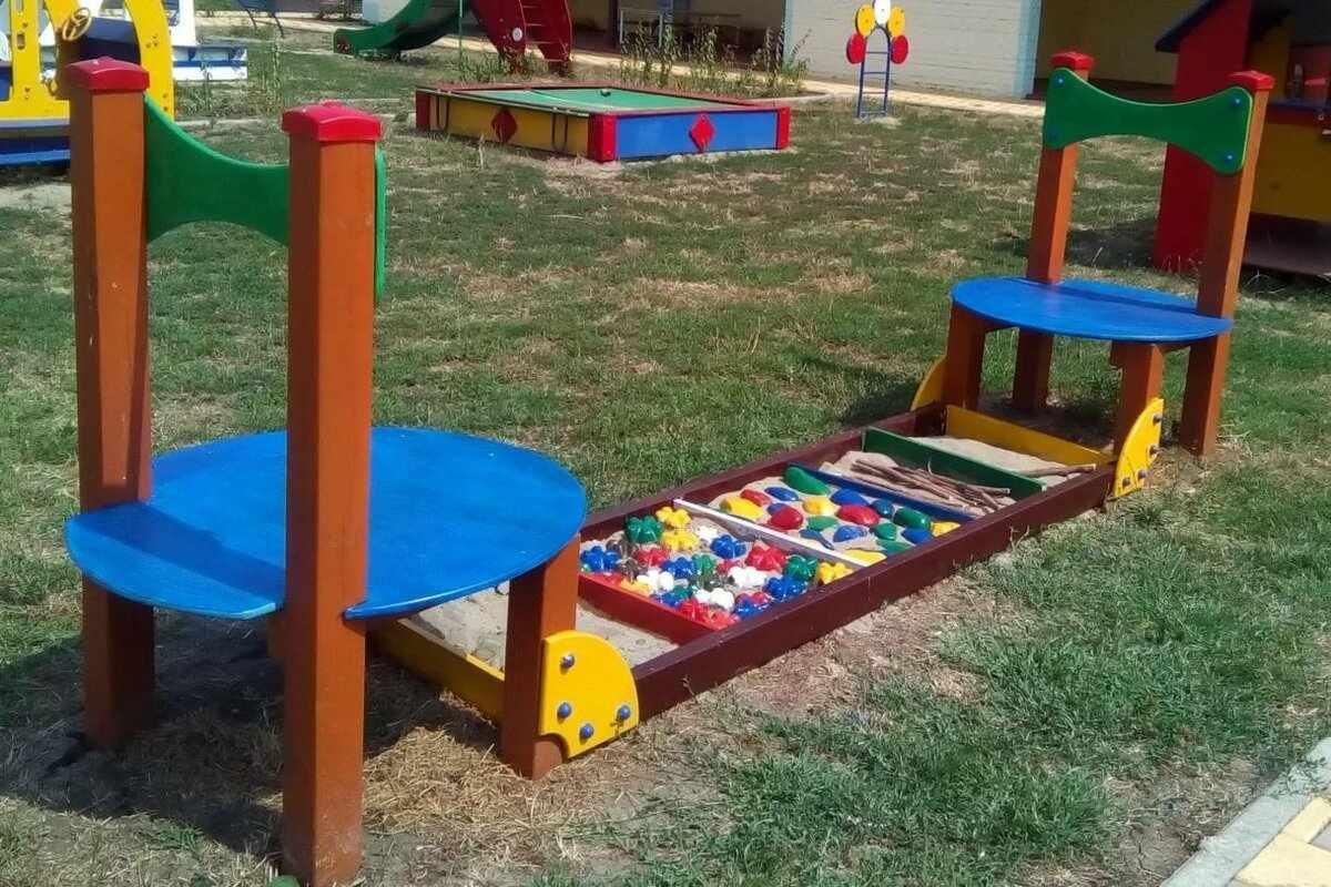 Игровая зона в детском саду