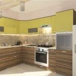 Желто-оливковый оттенок