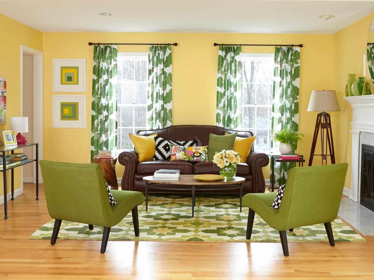 Желтая гостиная