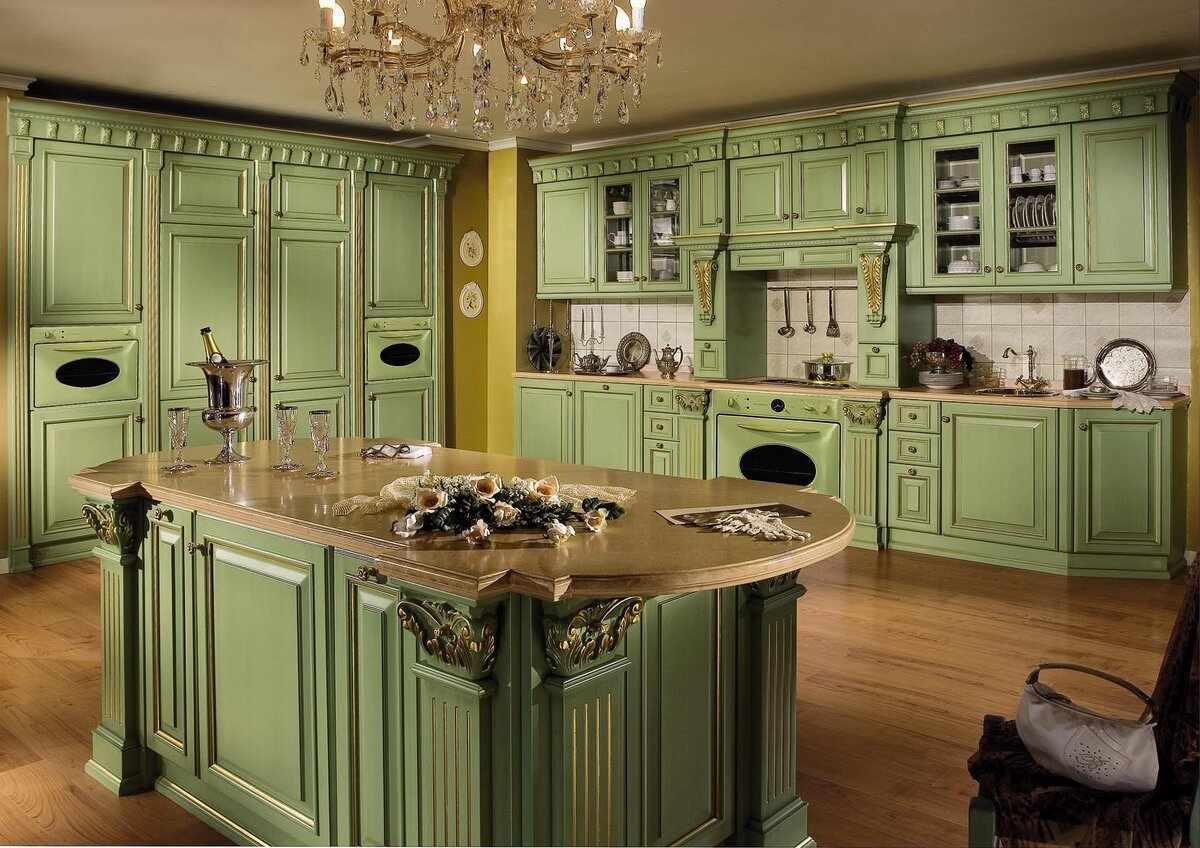 Оливковая мебель