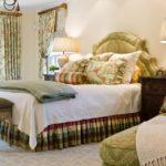 Оливковая кровать