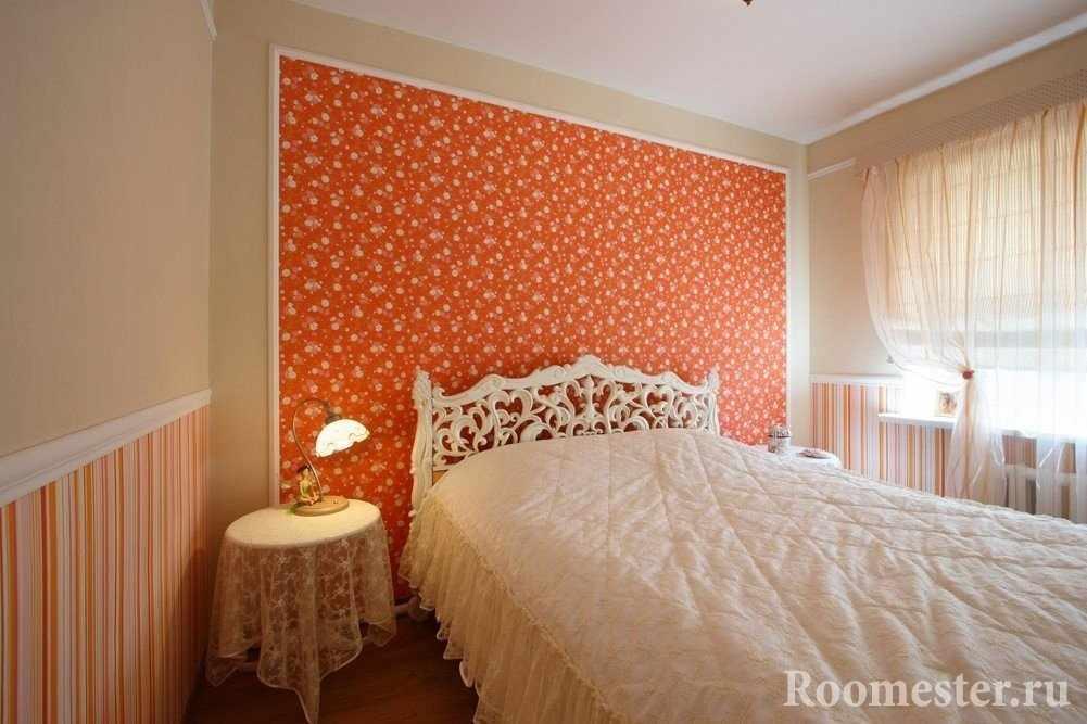 Бежевый и оранжевый цвета в сочетании