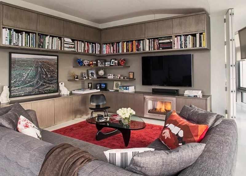 Организация пространства гостиной