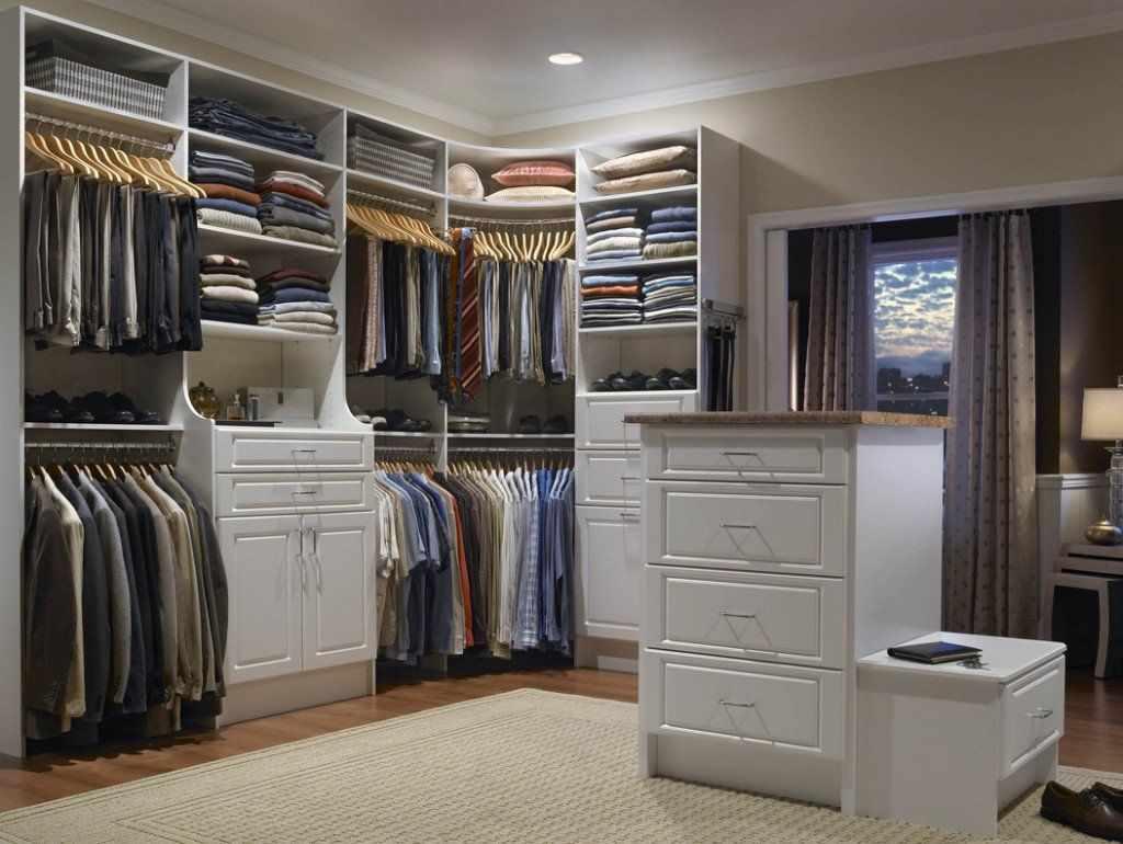 Организация пространства гардеробной