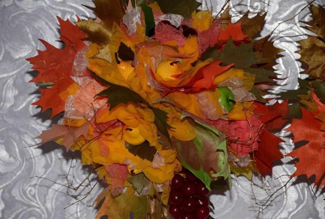 Топиарий из листьев